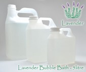 5 litre refill - Bubble Bath - only Lavender
