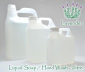 2 litre refill - Liquid Soap - Lavender or Rooibos