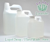 5 litre refill - Liquid Soap - Lavender or Rooibos